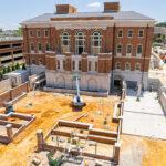 Hewson Hall construction on University of Alabama campus