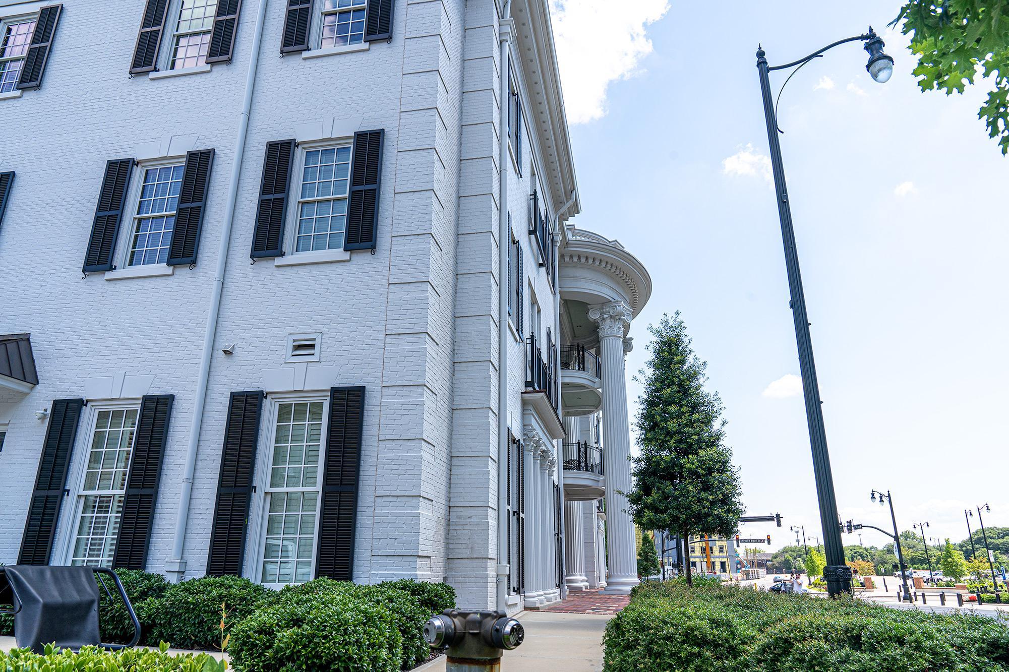 Phi Mu House at University of Alabama campus